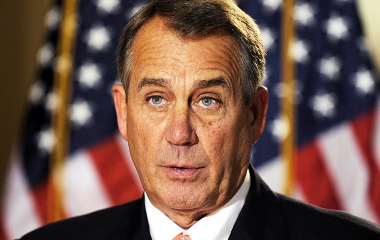 "Boehner said claimed ultra conservatives ""whip people into a frenzy believing they can accomplish things they know, they know are never going to happen."""