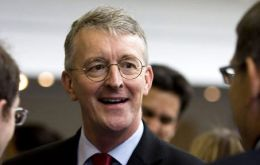 """We absolutely as the Labour Party uphold the right of the people of Gibraltar to self-determination"" shadow Foreign Secretary Hilary Benn told guests."