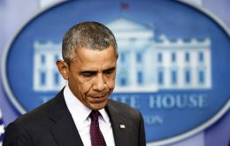 Obama, with some anger in his voice, said the US has become numb to such shootings and the response has become routine.