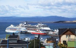 During the 2014/15 season the number of cruise visitors in Ushuaia was actually down 9%, from 98.770 to 90.276, according to a release from Hosteltur.