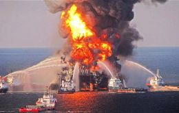 "Millions of barrels of oil were spilled into surrounding waters. The ensuing spill took 87 days to stop. BP says the deal gives it ""certainty"" over what it must pay."