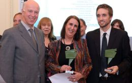 The British Ambassador John Freeman handed out the Excellency Prize