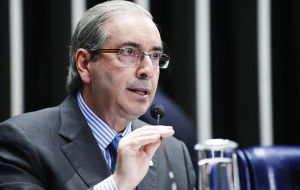 Lower house speaker Eduardo Cunha is responsible for reviewing motions to impeach the president and deciding whether to allow them to proceed.