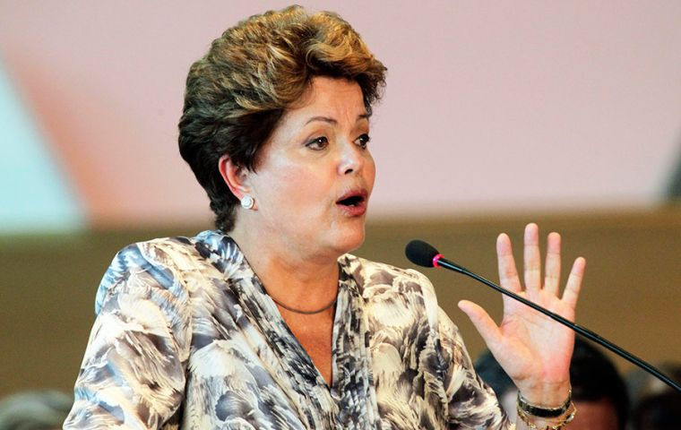 Rousseff likened her situation to that faced by Fernando Lugo, a former Catholic bishop who was forced out as Paraguay's president in 2012.