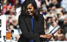 """We are honored to have the First Lady Michelle Obama as our sponsor,"" said Electric Boat President Jeffrey Geiger."