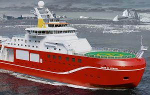 The ship with a heli-deck to open up new locations for science will be one of the most sophisticated floating research laboratories operating in Polar Regions.