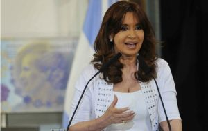 Cristina Fernandez clashed with the Supreme Court regarding the embassy's attack and the fact that there was no news on the investigation