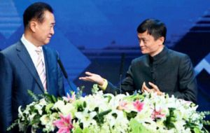 Real estate and entertainment magnate Wang Jianlin dethroned founder of e-commerce giant Alibaba Jack Ma as the country's richest person