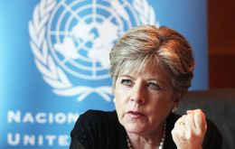 """The region is at a crossroads"" warns ECLAC's Alicia Barcena who underlined more international insertion is needed."