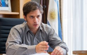 """Griesa doesn't allow the creditors to get paid so they are asking BONY to either pay up or resign,"" Argentine Economy Minister Axel Kicillof said"