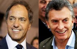 The Daniel Scioli-Carlos Zanetti ticket believed they had a ten-point difference over Mauricio Macri and Gabriela Michetti, but this never happened