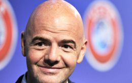 UEFA said Infantino, general secretary of UEFA since October 2009, was well-equipped to run FIFA.