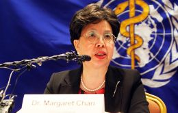 """The report shows that TB control has had a tremendous impact in terms of lives saved and patients cured,"" said WHO Director-General Margaret Chan."