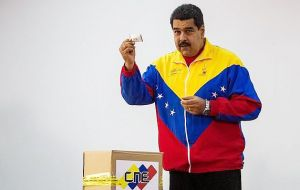 "Chavistas ""will not surrender the revolution"", even in defeat in December's elections, warned Maduro"