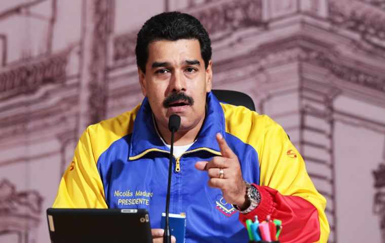 "Maduro said he would accept the results of the election, whatever the outcome, but he's not willing to ""surrender the revolution."""