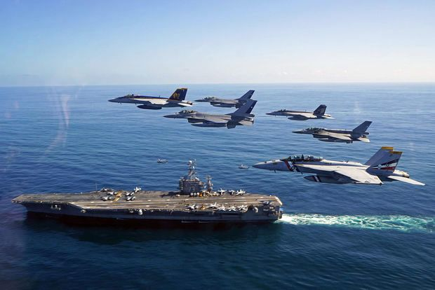 Carrier Strike Group Nine 73