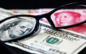 As of May 15, 2015, the total value of effective currency swap agreements was RMB 2.9 trillion (US$ 468 billion).