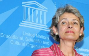 Unesco chief Irina Bokova stressed that each time a perpetrator of a crime is allowed to escape punishment, it creates a vicious cycle of violence.