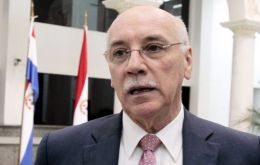 The announcement was done by Paraguayan foreign minister Eladio Loizaga following a meeting with the ambassadors from the group's member countries