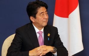 Shinzo Abe (No. 41), the Japanese prime minister, is the biggest upward move on the list, up 22 spots