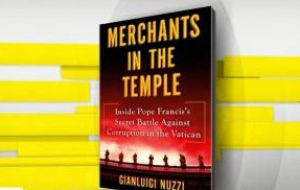 """So far Jorge Bergoglio's efforts to remove the Merchants in the Temple have been insufficient,"" Nuzzi writes in the final section of the book."