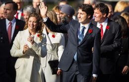 "Justin Trudeau announced his Cabinet with a group of ministers divided evenly between men and women, which he justified saying ""it's 2015"""