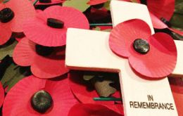 During the Remembrance Service a collection will be made for the Poppy Appeal