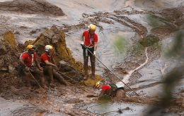 The intensity of the destruction, with flooding and mud as far as 100km away from the mine, has meant a slow and laborious rescue effort.