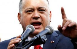 """The most perverted, corrupt and discredited organization in the world, the OAS, threatens the people of Venezuela,"" said Diosdado Cabello"