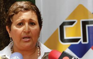 Almagro sent an 18-page letter to Tibisay Lucena, head of Venezuela's Electoral Council (CNE), questioning the country's commitment to electoral transparency.