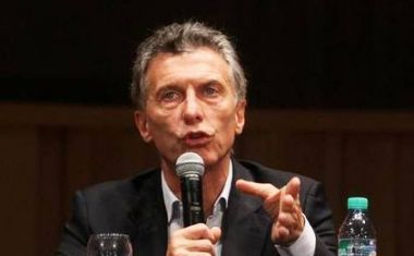 "Macri claimed that ""we still are not aware and have not been told what are the reserves of the Central bank""."