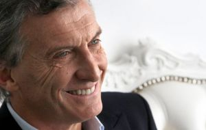 "Macri described Malcorra ""as intelligent, vigorous and wise"" and comes to ""add her vision about international issues in this phase of change we will begin soon."""