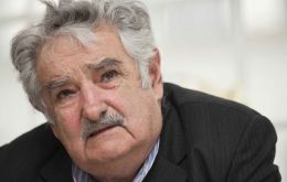 """From the deepest of my heart I wish things in Argentina turn out positive, the best possible for its future government and Mr. Macri"", said Mujica"