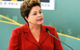 President Rousseff has been forced to raise taxes, cut spending and investment, and Congress members from her coalition don't accept it