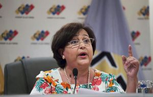 OAS recently addressed a letter to the head of Venezuela's Electoral tribunal, CNE, Tibisay Lucena, complaining about the lack of guarantees.