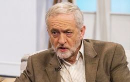"Mr. Corbyn said he is ""determined to see the defeat"" of IS; the issue is whether what Cameron is proposing 'strengthens, or undermines, our national security'"