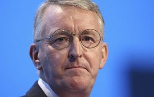 "However, shadow foreign secretary Hilary Benn said Mr Cameron had set out ""compelling arguments"" for Britain to join other nations in extending airstrikes"