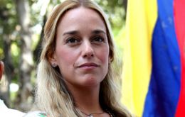 The event was also attended by Lilian Tintori, the wife of a jailed opposition leader and a high-profile critic of Maduro.
