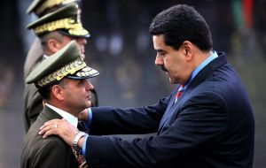 "Maduro has warned that if the opposition wins, his side is ""politically and militarily prepared to deal with it"" and would ""take to the streets."""