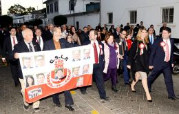Picardo's centrist GSLP/Liberals alliance won 68% of the vote over the opposition Gibraltar Social Democrats (GSD), on turnout of 70% (Pic Jim Watt)