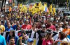 The brutal murder of opposition leader Luis Manuel Díaz, from Democratic Action party, threw Venezuela's polarized politics into even further turmoil (AFP)