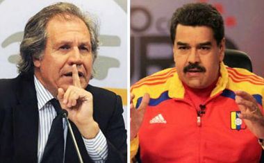 It does not make one 'garbage,' Mr President Nicolas Maduro, to condemn the killing of a politician and call for an end to the ongoing violence, said Almagro