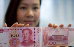 "The IMF said the Yuan ""met all existing criteria'' and should become part of the basket in October 2016."