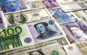 SDR value will be based on a weighted average of the currencies basket comprising the dollar, Euro, Chinese Yuan, Japanese yen, and British pound
