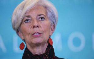 "IMF chief Christine Lagarde said it was ""an important milestone in the integration of the Chinese economy into the global financial system""."