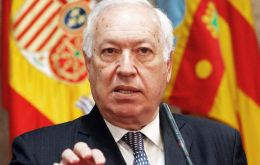 García-Margallo underlined Spain's president Mariano Rajoy's close relationship with Argentine president elect Macri