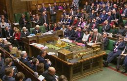 The UK parliament voted 397 in favor of action and 223 against, following a 10-hour debate.