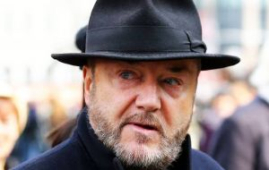 Former MP and Mayor of London candidate, George Galloway criticized initial statements by Argentine President elect Mauricio Macri on foreign policy.