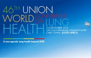 Cape Town is hosting the 46th Union World Conference on Lung Health with  thousands of physicians and health care providers meeting to focus on TB.