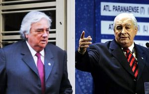 Argentine nationals Jose Luis Meiszner and Eduardo Deluca, current and former secretary generals of South America's confederation, were also charged.